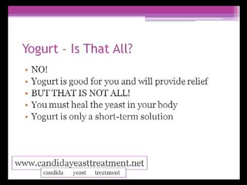 how to use yogurt to treat yeast infection