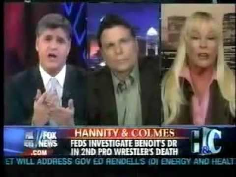 Lanny Poffo and Debra Marshall on Hannity and Colmes 1 of 2