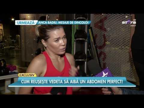 Gina Pistol se antrenează ca la trupele speciale (видео)