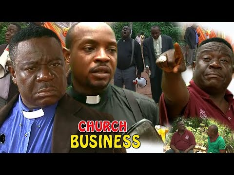 CHURCH BUSINESS 1&2 - Mr Ibu VS Don Collins 2019 Latest Nigerian Comedy Movie Full HD