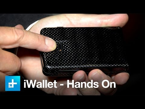 iWallet Biometric Locking Wallet - Hands On