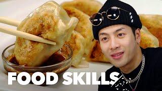 Video Jackson Wang Learns How to Make Dumplings | Food Skills MP3, 3GP, MP4, WEBM, AVI, FLV April 2019