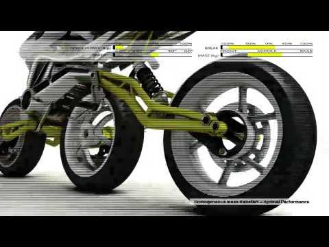 il prototipo di moto del futuro: 3 ruote e una stabilità incredibile!