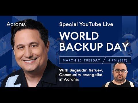 World Backup Day with Acronis