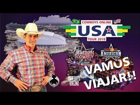 Cowboys Online USA Tour 2018