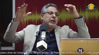 Pablo McKinney comenta tribunal descarga a Alberto Hoguin ex director INAPA
