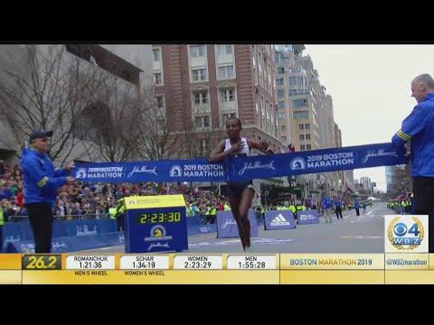 Worknesh Degefa Wins Women's Boston Marathon