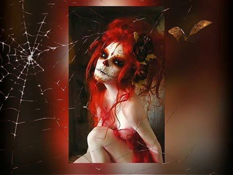 Dia De Los Muertos ~ Halloween Dolls Sexy (Art, Nicole West) HD