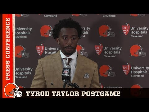 Tyrod Taylor Postgame Press Conference 8/9 | Cleveland Browns