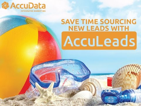 Save Time Sourcing New Leads with AccuLeads