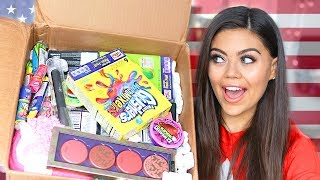Video UK VS USA SWAP BOX WITH MissRemiAshten AMERiCAN BEAUTY, MAKEUP AND CANDY!! MP3, 3GP, MP4, WEBM, AVI, FLV September 2018