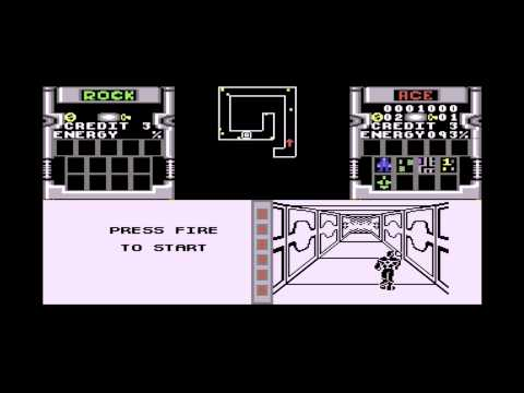 Lukozer Retro Game Review 111 - Xybots - Commodore 64