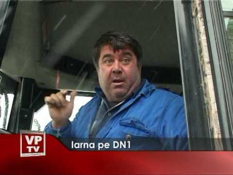Iarna pe DN1