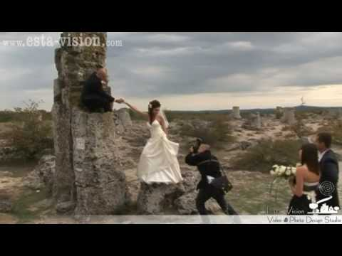 Funny video - The Wedding Day / bride Elena and groom Dimitar /