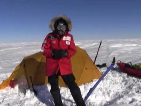 Albert Bosch Expedicíón Polo Sur 2012 - PowerBar Energía en condiciones extremas.