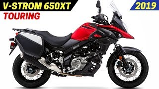 9. NEW 2019 Suzuki V-Strom 650XT Touring - Receives Advanced Traction Control System