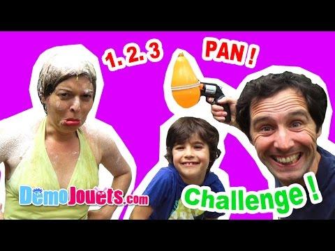 Balloon roulette Challenge Prank ! Qui fera exploser le plus de ballons ?  -  Démo Jouets