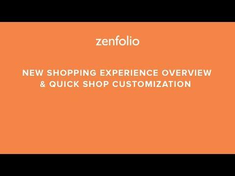 , title : 'Zenfolio's New Shopping Experience Overview - Client buying tutorials in description below!'