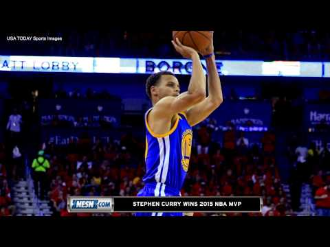 Video: Stephen Curry Wins 2015 NBA MVP