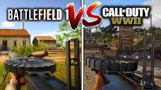 BF1 Versus COD WW2 ALL GUNS COMPARED | Battlefield VS Call of Duty (WHO WON?)