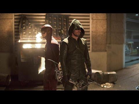 "The Flash S01E08 ""Flash Vs. Arrow"" - Fan Brain"