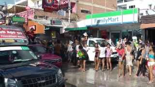 Water Festival 2013 Beach Road Pattaya Thailand