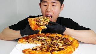 Video Mukbang Korean Bulgogi Pizza [ASMR] MP3, 3GP, MP4, WEBM, AVI, FLV Juni 2018