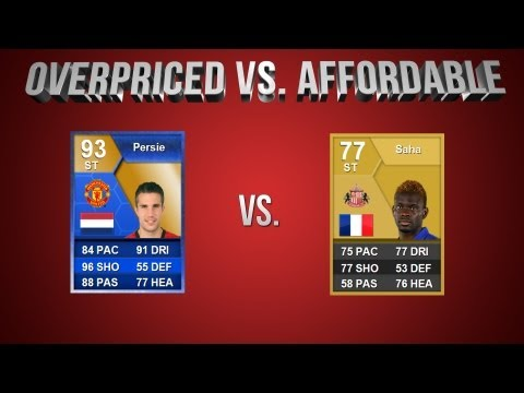 FIFA 13 | OverPriced vs Affordable EP 22: ToTS RVP vs SAHA