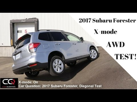AWD Test: 2017 Subaru Forester Diagonal and OffRoad / THE Most Complete review! / Part 6/8 (видео)
