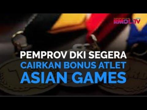 Pemprov DKI Segera Cairkan Bonus Atlet Asian Games