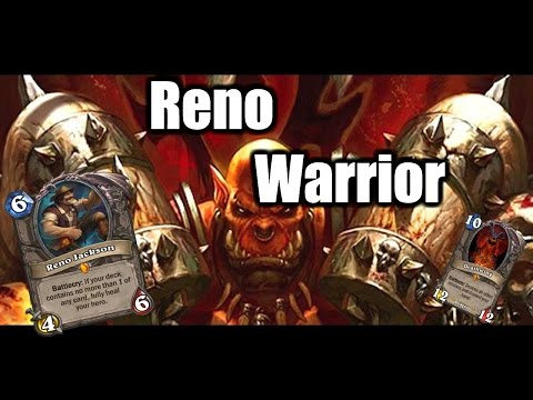 How To Climb The Ladder With Reno Warrior [Hearthstone Guide] [Beat The ladder with Gaara Ep.4]