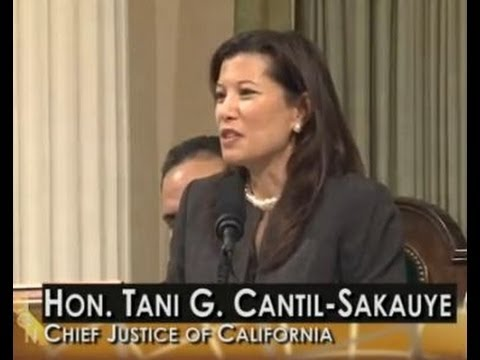 California's State of the Judiciary