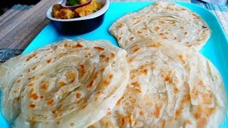 Flaky Layered Barota/ Parotta/ Parota in Tamil