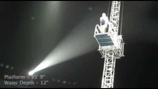 Уникален скок в 30 сантиметров басейн!!!