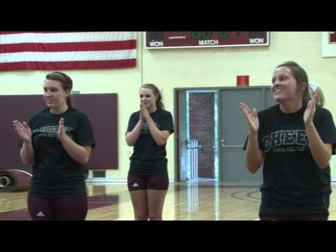 Alma College Cheerleading - The Start of a New Tradition