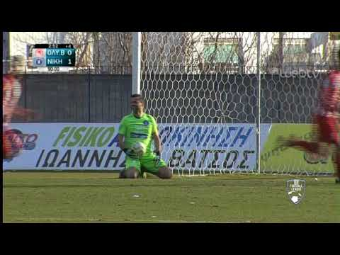 Football League:  ΟΛΥΜΠΙΑΚΟΣ ΒΟΛΟΥ – ΝΙΚΗ ΒΟΛΟΥ | ΓΚΟΛ 1-1 | 22/02/2020 | ΕΡΤ