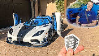 I GOT A RIDE IN MY $3 MILLION DREAM CAR!! *Koenigsegg Agera RS*