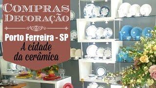 Neste vídeo eu mostro para vocês as minhas comprinhas de decoração e mesa posta que fiz em Porto Ferreira - SP a cidade da cerâmica! Me siga no instagram:@carolpafiadache e @carol.decora