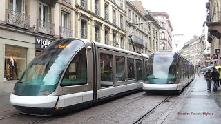Strasbourg France  city photos gallery : Trams à Strasbourg, France - 1080p