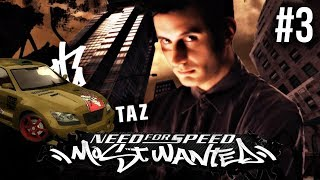 Need for Speed Most Wanted 2005 Gameplay Walkthrough Part 3 - BLACKLIST #14 TAZ • GameRiotArmy