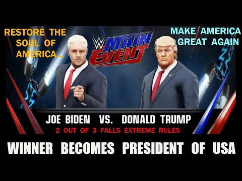 Joe Biden vs. Donald Trump - 2 Out Of 3 Falls Extreme Rules Match
