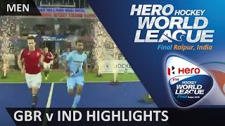 Raipur India  city images : Great Britain v India Match Highlights #HWL2015 #Raipur
