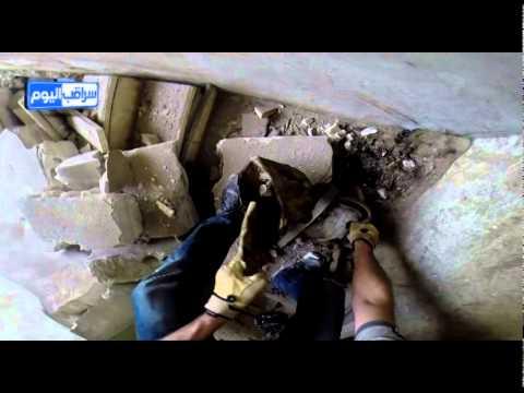 غاز الكلور في سراقب اختناق  طفلة من مادة الكلور من براميل الطيران المروحي اليوم