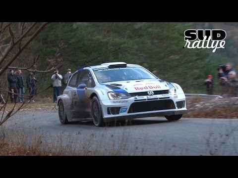Test Rallye Monte Carlo 2015 - Sebastien Ogier (Polo WRC) (HD)