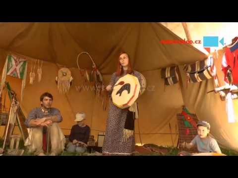 Indiánské bubnování