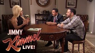 Video Jimmy Kimmel & Guillermo Get a Reading From the Long Island Medium MP3, 3GP, MP4, WEBM, AVI, FLV Juni 2018