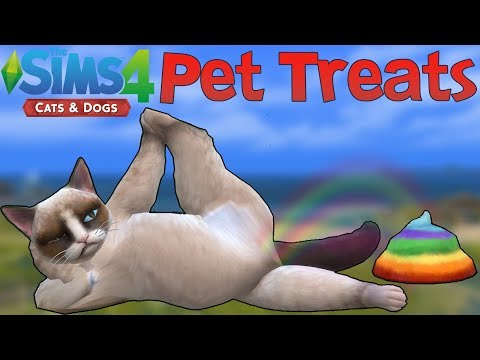 The Sims 4 Cats & Dogs: All Pet Treats