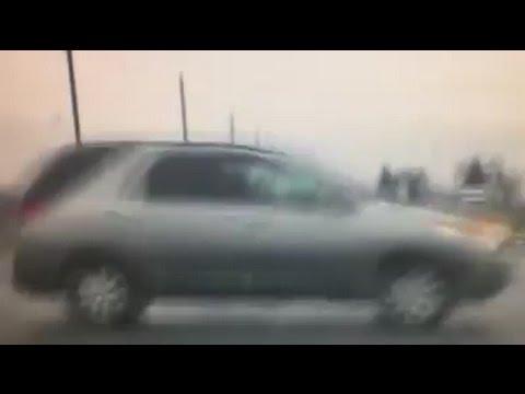 Near accident involving Tuscola County deputy (1.27.17)
