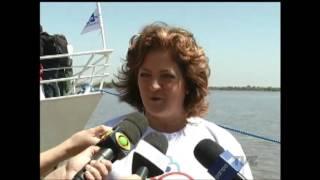 O barco Cisne Branco, considerado um espaço cultural de Porto Alegre, é reinaugurado - TVE
