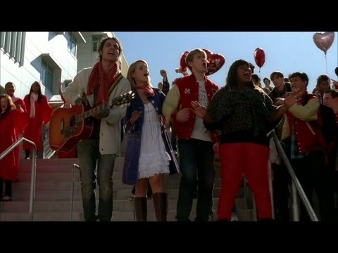 GLEE - Stereo Hearts (Full Performance) (Official Music Video) (видео)